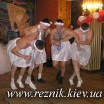Прощальный танец одного из лебедей :)